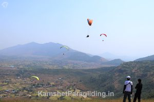 East site paragliding at kamshet