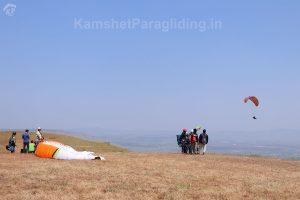 kamshet paragliding landscape view