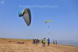 paragliding in kamshet at tower east