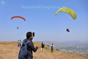 kamshet paragliding photography