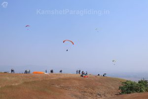 kamshet paragliding take-off ground